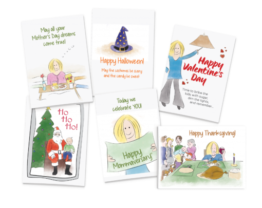 6 Holiday Cards